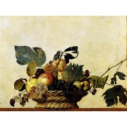 "Caravaggio,Canestra di Frutta - High Quality Art Picture for Home Decor with ""On Demand"" Standards"