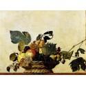 Caravaggio,Canestra di frutta.Stampa Museale ad Alta Risoluzione su Supporti Misure a Scelta