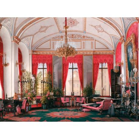 """Petrovich Hau""""Winter Palace:Raspberry Study"""",Quadro Pronto per Installazioni,Allestimenti e Home Design"""