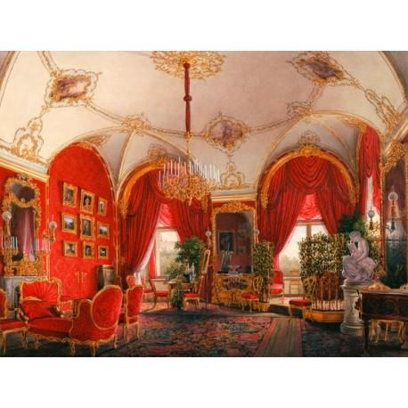 """Petrovich Hau""""Winter Palace Apartment"""",Quadro Pronto per Installazioni,Allestimenti e Home Design"""