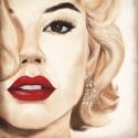 """Marco Fabiano""""Madison Avenue V"""" canvas quadri moderni Pronti da appendere ispirati da Marylin Monroe"""