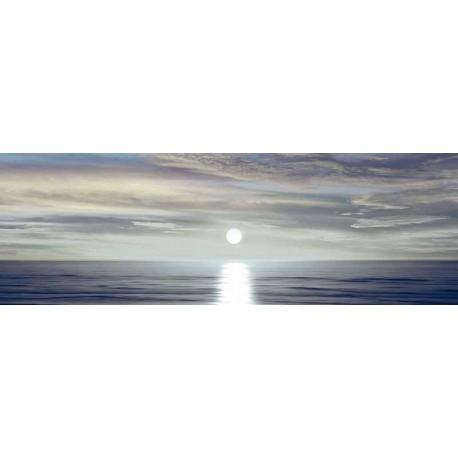 """Maggie Olsen""""Sunlit Horizon 2""""stampe e quadri moderni,fotografia con tramonto in grigio, misure a scelta"""