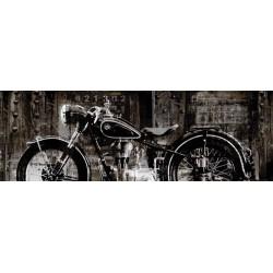 "Matthews""Vintage Motorcycle"", quadro moderno con moto in misure a scelta"
