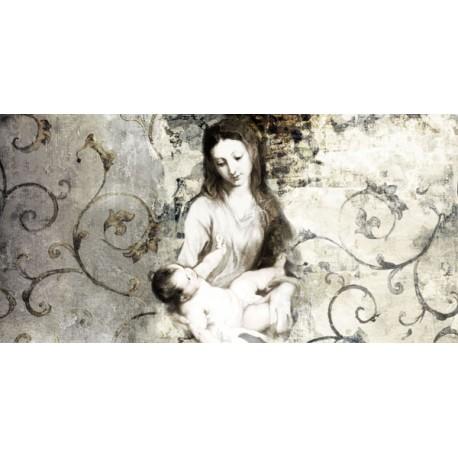"""Simon Roux """"Madonna con bambino"""""""