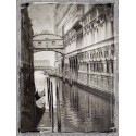 "Jackson""Venice Romance 1""-modern paintings black and white photography"