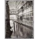 "Jackson""Venice Romance 1""quadri moderni foto Venezia bianco e nero"