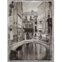 "Jackson""Venice Romance 2""-modern paintings in black & white.Author's photography"