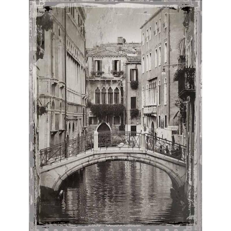 Jackson venice romance 2 quadri moderni foto venezia in for Soggiorno bianco e nero
