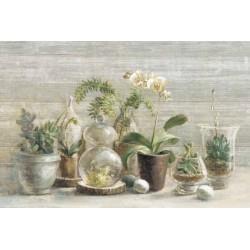 """Nai""""Orchidee su Legno"""",decorazione d'interni stile Shabby,canvas su telaio 100x70 cm e altre misure"""