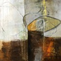 """Davies""""Abstract Pebble 4"""" quadro dittico astratto o singoli per soggiorno o camera"""