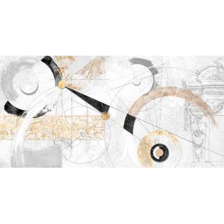 """Arturo Armenti """"Nero e Oro"""" quadri astratti post-moderni total-white per arredi moderni o classici"""