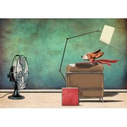 """Etienne Betie""""Racing Dog"""" quadri e poster moderni Pop Art Originali per Soggiorno, Ufficio o altro"""