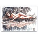 "Milo Manara""Acquerello"" comic pictures with Certificate of Authenticity"