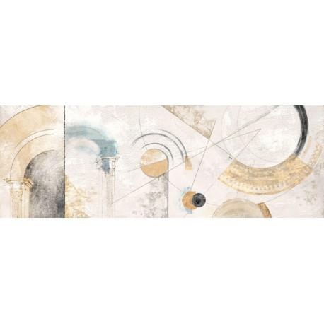 """Armenti """"Geometrie"""" quadri astratti post-moderni total-white per arredi moderni o classici"""