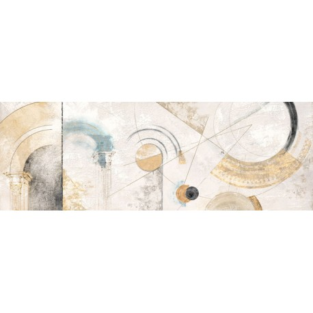 """Armenti""""Geometrie"""" abstract post modern pictures in total white"""