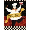 """Charron""""Bon Appetit 2"""" decor picture with funny chef for kitchens or dining rooms"""