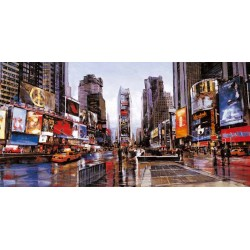 "Daniels""Times Square""quadri moderni new york per salotto o camera da letto"