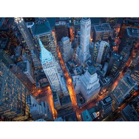 Davidson aerial wall street quadro pronto poster o for Soggiorno pronto