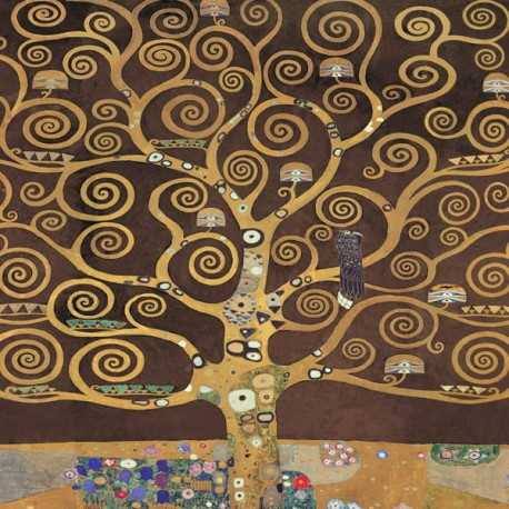 "Klimt ""Tree of Life (Brown Variation)"" -HQ Fine Art print on Canvas or Artistic Paper.Ready To Hang product also available"