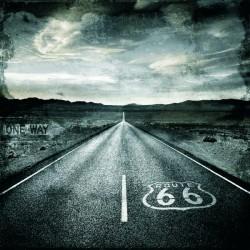 """Luke Wilson""""Road Trip"""" Route 66 B/N per soggiorno o camera. Misure e supporti a scelta"""
