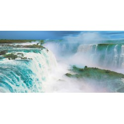 "Frank Krahmer ""Iguazu Falls"" - Author's aerial shot over famous Iguazu Falls. Size and stuff by choice"