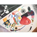 """Wassily Kandinsky """"Roter Fleck"""" classic masterpiece with on Demand Size and stuff."""