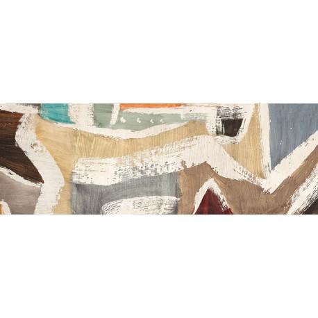 """Anne Munson """"Comfort Zone"""" quadro astratto in colori neutri per arredi moderni o classici"""