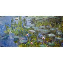Claude Monet-Water Lilies. Stampa Originale Alta Risoluzione delle Classiche Ninfee Possibilità di Ritocco