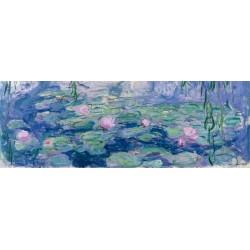 Claude Monet-Ninfee / Waterlilies. Stampa Originale Alta Risoluzione delle Classiche Ninfee Possibilità di Ritocco