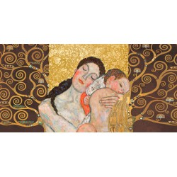 "Klimt Patterns ""Motherhood II"" - Modern rendition from the Klimt's Classic,for Living or Bedrooms"