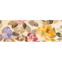 "Kelly Parr ""Flowers Parade"", horizontal Picture for living or bedroom in a Shabby Style"