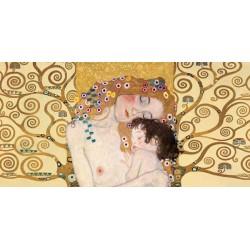 """Klimt Patterns """"Maternità 1"""" Capezzale Moderno rielaborazione dal famoso """"3 età"""" di Klimt. Misure e Supporti a scelta"""