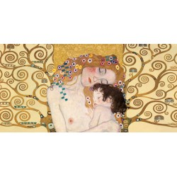 "Klimt Patterns ""Maternità 1"" - Modern rendition from the Klimt's Classic,for Living or Bedrooms"
