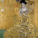 "Gustav Klimt ""Portrait of Adele Block-Bauer"" .Stampa Fine Art su Canvas Misure Multiple per Soggiorno o Camera"