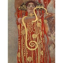 """Gustav Klimt """"Medicina (detail)"""" -Stampa Fine Art con Misure multiple e Supporti diversi per Soggiorno o Camera"""