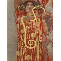 """Gustav Klimt """"Medicine (detail)"""" -HQ Fine Art print on Canvas or Artistic Paper.Ready To Hang product also available"""