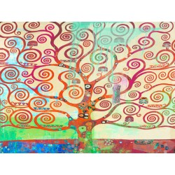 "Eric Chestier ""Klimt's Tree 2.0"" -HQ Fine Art print on Canvas or Artistic Paper.Ready To Hang product also available"