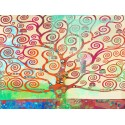 """Eric Chestier """"Klimt's Tree 2.0"""" -HQ Fine Art print on Canvas or Artistic Paper.Ready To Hang product also available"""