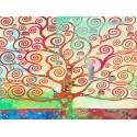 """Eric Chestier """"Klimt's Tree 2.0"""" -Stampa Fine Art con Misure multiple e Supporti diversi per Soggiorno o Camera"""