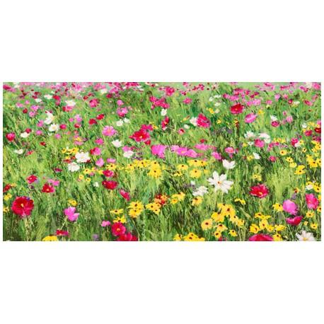 """Mei """"Campo di Fiori"""" Quadro moderno con meraviglioso campo fiorito. HQ anche grandi dimensioni"""