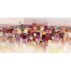 "Luigi Florio ""Sognando Roma"" high quality print or ready to hang, size & stuff by choice"