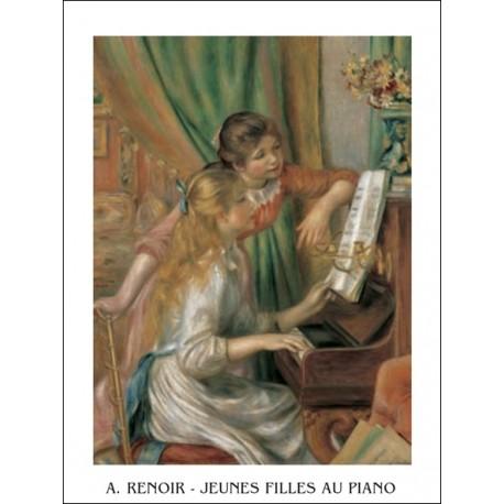 Renoir - Jeunne fille au piano