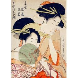 Utamaro Kitagawa Courtesans