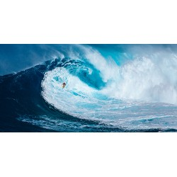 "Pangea ""Surfing on the Big Wave"", Photo Picture for Home Decor, Canvas or Paper"