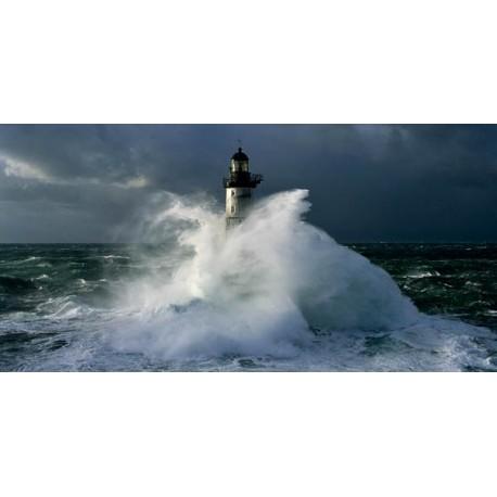 """Jean Guichard""""Fare d'Ar-Men dettaglio""""-Quadro con Stampa Fotografica d'Autore per Soggiorno o Camera"""
