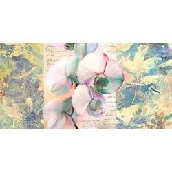"""Kelly Parr """"Orchid"""" Quadro shabby con orchidee, supporti e misure a scelta"""