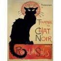 """""""Chat Noir"""",Alexandre Steinlen"""