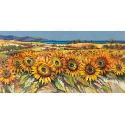 Florio Luigi - field of Sunflowers