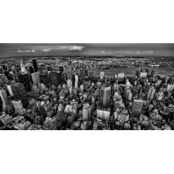 G. Gagliardi - New York City from the Empire State Building Quadro Stampa Alta Risoluzione