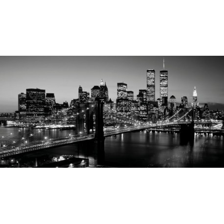 Richard Berenholz-Brooklyn Bridge, NYC Quadro Stampa Alta Risoluzione